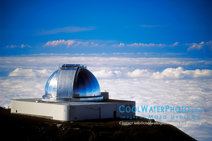 NASA Infrared Telescope Facility or IRTF, Mauna Kea Observatories, Big Island, Hawaii