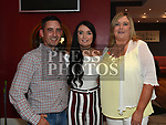 Megan Shevlin celebrating her 21st birthday in Brú with godparents Anthony Gorman and Mary Shevlin. Photo:Colin Bell/pressphotos.ie