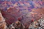 View of Bright Angel Canyon and Phantom Ranch from the South Rim, Grand Canyon National Park, AZ, USA