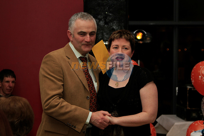 at the retirement party for Garda Mick Rogan in the Tatch..Picture Fran Caffrey www.newsfile.ie