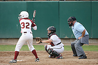 7 March 2008: Stanford Cardinal Brittany Minder during Stanford's 9-1 win against the Charleston Cougars in the Stanford Classic at the Boyd and Jill Smith Family Stadium in Stanford, CA.