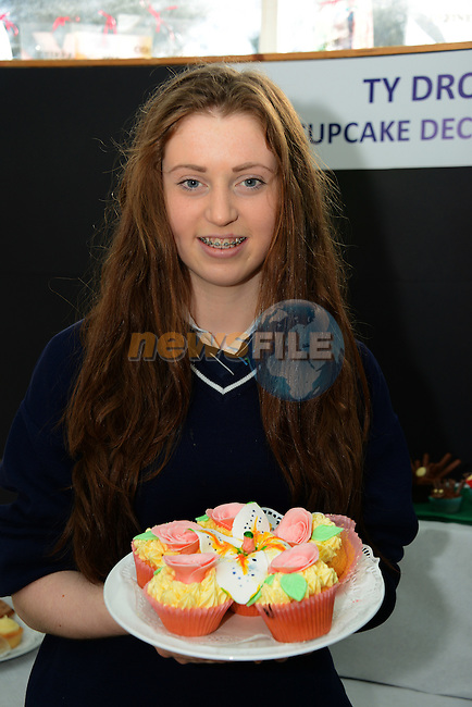 Orla Molloy from Greenhills College who was a finalist in the Drogheda Inter-schools Transition Year Cup Cake Competition.