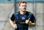 St Johnstone Training&hellip;24.08.18<br />Liam Craig pictured during training this morning at McDiarmid Park ahead of tomorrow&rsquo;s game against Dundee<br />Picture by Graeme Hart.<br />Copyright Perthshire Picture Agency<br />Tel: 01738 623350  Mobile: 07990 594431