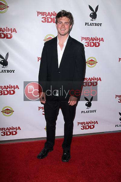 Paul James Jordan<br /> at the &quot;Piranha 3DD&quot; Los Angeles Premiere, Chinese 6, Hollywood, CA 05-29-12<br /> David Edwards/DailyCeleb.com 818-249-4998