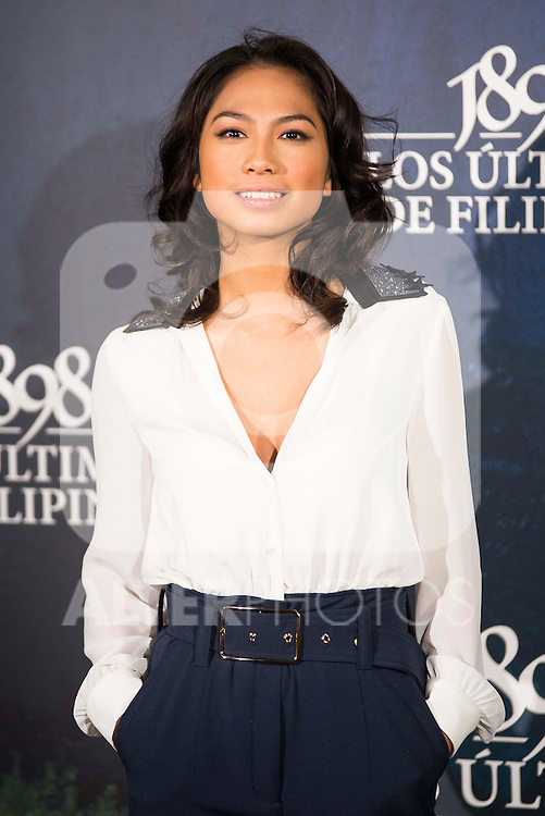 "Alex Masangkay attends to the presentation of the spanish film "" 1898. Los ultimos de Filipinas"" at Naval Museum in Madrid, Spain. November 28, 2016. (ALTERPHOTOS/BorjaB.Hojas)"