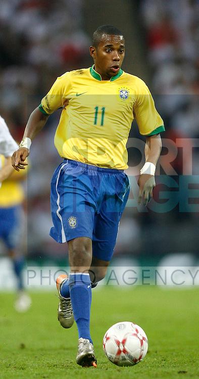Brazil's Robinho..International Friendly..England v Brazil..1st June, 2007..--------------------..Sportimage +44 7980659747..admin@sportimage.co.uk..http://www.sportimage.co.uk/