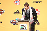 13 January 2011: New England Revolution selected Stephen McCarthy with the #24 overall selection. The 2011 MLS SuperDraft was held in the Ballroom at Baltimore Convention Center in Baltimore, MD during the NSCAA Annual Convention.