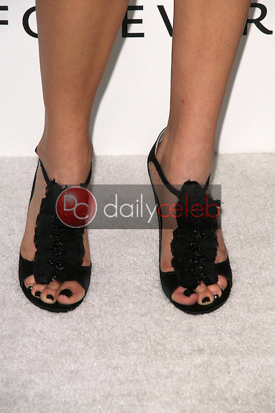Adrianne Palicki's shoes<br />at the DIC and Instyle Magazine 8th Annual Awards Season Diamond Fashion Show. Beverly Hills Hotel, Beverly Hills, CA. 01-08-09<br />Dave Edwards/DailyCeleb.com 818-249-4998