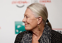 L'attrice britannica Vanessa Redgrave posa durante un photocall alla Festa del Cinema di Roma, 2 novenbre 2017.<br /> British actress Vanessa Redgrave poses for a photocall during the international Rome Film Festival at Rome's Auditorium, November 2, 2017.<br /> UPDATE IMAGES PRESS/Isabella Bonotto