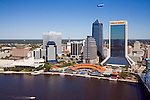Jacksonville Aerial Views of the Skyline