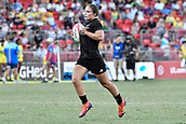 3rd February 2019, Spotless Stadium, Sydney, Australia; HSBC Sydney Rugby Sevens; New Zealand versus Australia; Womens Final; Michaela Blyde of New Zealand runs to the try line to score