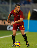 Roma's Alessandro Florenzi in action during the Serie A football match between Roma and Bologna at Rome's Olympic stadium, October 28, 2017.<br /> UPDATE IMAGES PRESS/Riccardo De Luca