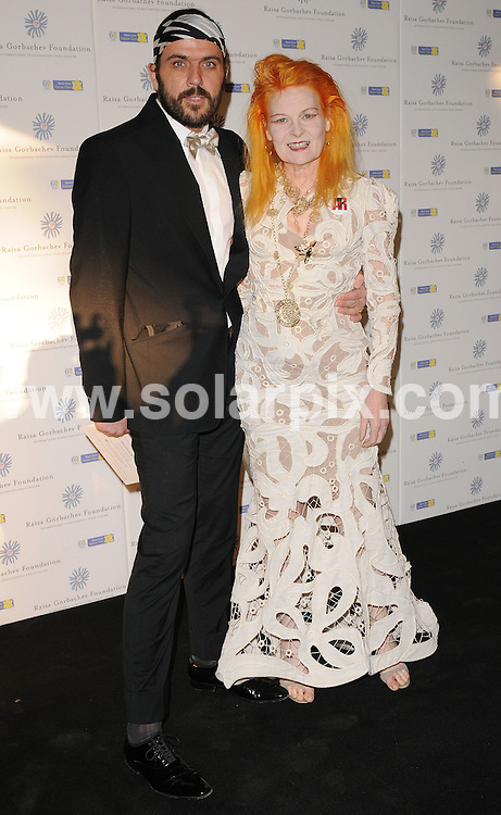 **ALL ROUND PICTURES FROM SOLARPIX.COM**.**WORLDWIDE SYNDICATION RIGHTS**.Press room arrivals at The Raisa Gorbachev Foundation, Third Annual Gala Dinner.  Held at the Stud House, Hampton Court Palace London..This pic:Vivienne Westwood.JOB REF: 6585      SSD     DATE:07.06.08.**MUST CREDIT SOLARPIX.COM OR DOUBLE FEE WILL BE CHARGED* *UNDER NO CIRCUMSTANCES IS THIS IMAGE TO BE REPRODUCED FOR ANY ONLINE EDITION WITHOUT PRIOR PERMISSION*