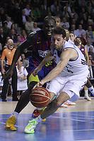30.12.2012. Barcelona. Liga Endesa jornada 15. EN la foto Rudy Fernandez  durante el partido entre EL FC Barcelona contra el Real Madrid en el Palu Blaugrana