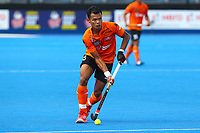 Malaysia's Nabil Noor in action during the Hockey World League Semi-Final Pool A match between England and Malaysia at the Olympic Park, London, England on 17 June 2017. Photo by Steve McCarthy.