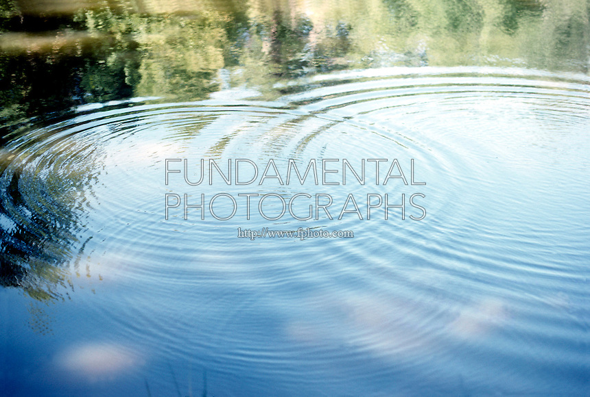 RIPPLES ON LAKE ARE INTEFERENCE PATTERNS<br /> Intersecting point source ripples