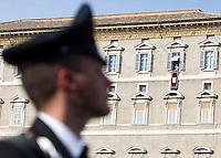 20151115 VATICANO: ALLARME TERRORISMO - MISURE DI SICUREZZA DURANTE L'ANGELUS DI PAPA FRANCESCO