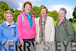 Looking forward to the Muckross Pilgrimage Walk celebrating the golden jubilee of the Church of the Holy Spiirit, Muckross on Saturday were Mary Doody, Claire Fleming, Cecilia O'Shea and Ann Fagan.