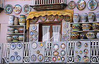 Europe/Italie/Côte Amalfitaine/Campagnie/Amalfi : Boutique de céramiques