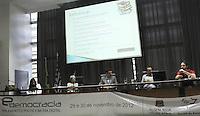 ATENCAO EDITOR: FOTO EMBARGADA PARA VEICULO INTERNACIONAL - SAO PAULO, SP, 29 NOVEMBRO 2012 - SEMINARIO E-DEMOCRACIA: PARLAMENTO E POLITICA NA ERA DIGITAL -  Mesa que debateu sobre a Lei de Acesso a Informação que foi um dos temas do seminario que aconteceu na Assembleia Legislativa de Sao Paulo na zona sul da cidade, que o Instituto do Legislativo Paulista (ILP) e o Comite do Portal da Assembleia Legislativa do Estado de Sao Paulo promoveram, nessa quinta , 29. (FOTO: LEVY RIBEIRO / BRAZIL PHOTO PRESS)