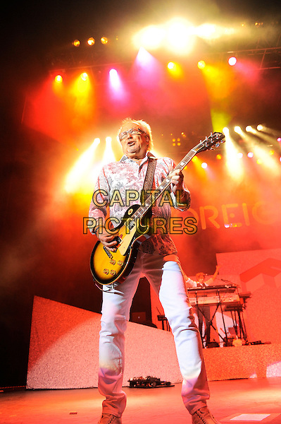 LONDON, ENGLAND - APRIL 13: Mick Jones of Foreigner performing at the Eventim Apollo on April 13, 2014 in London, England.<br /> CAP/MAR<br /> &copy; Martin Harris/Capital Pictures