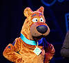 Scooby-Doo! Live Musical Mysteries <br /> at The Palladium, London, Great Britain <br /> press photocall <br /> 17th August 2016 <br /> <br /> <br /> Joe Goldie as Scooby-Doo <br /> <br /> <br /> Photograph by Elliott Franks <br /> Image licensed to Elliott Franks Photography Services