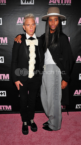 New York, NY: December 8:  Law Roach, Drew Elliott attends the VH1 America's Next Top Model premiere party at Vandal on December 8, 2016 in New York City.@John Palmer / Media Punch