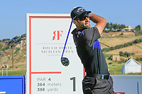 Alvaro Quiros (ESP) during the Pro-Am ahead of the Rocco Forte Sicilian Open played at Verdura Resort, Agrigento, Sicily, Italy 08/05/2018.<br /> Picture: Golffile | Phil Inglis<br /> <br /> <br /> All photo usage must carry mandatory copyright credit (&copy; Golffile | Phil Inglis)