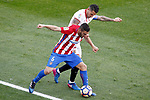 Atletico de Madrid's Koke Resurrecccion (l) and Sevilla FC's Vitolo during La Liga match. March 19,2017. (ALTERPHOTOS/Acero)