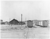 C&amp;S boxcars in Leadville yard.<br /> C&amp;S  Leadville, CO  1939