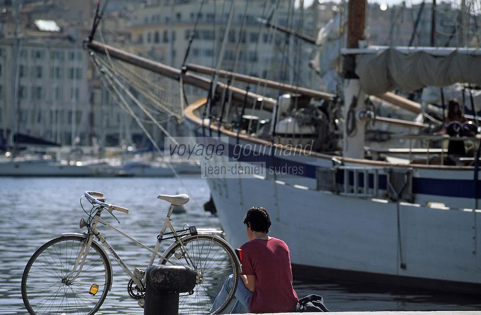 Europe/France/Provence-ALpes-Côte d'Azur/13/Bouches-du-Rhône/Marseille: Le vieux port