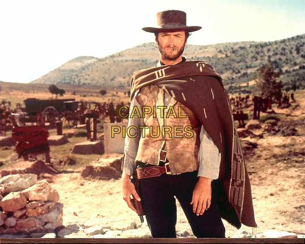 CLINT EASTWOOD.in Good, the Bad, and the Ugly.*Filmstill - Editorial Use Only*.CAP/PLF.Supplied by Capital Pictures.