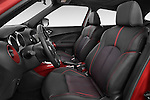 Front seat view of a 2015 Nissan JUKE TEKNA 5 Door SUV 2WD Front Seat car photos