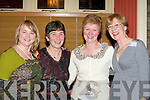 WONDERFUL: Mairead Easmonde, Doreen Lynch, Helen Rohan and Deirdre Morris, Killorglin having a wonderful evening in the Bianconi Restaurant, Killorglin on New Years Eve.   Copyright Kerry's Eye 2008