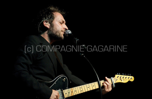 French singer-songwriter Mathieu Boogaerts performing at the Nuits du Botanique festival in Brussels (Belgium, 10/05/2009)