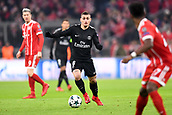 December 5th 2017, Allianze Arena, Munich, Germany. UEFA Champions league football, Bayern Munich versus Paris St Germain;  MARCO VERRATTI (psg) comes through midfield