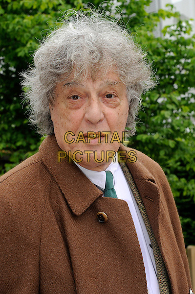 Tom Stoppard.The Chelsea Flower Show 2012, London, England..May 21st, 2012.headshot portrait brown.CAP/CJ.©Chris Joseph/Capital Pictures.