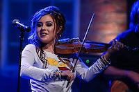 SÃO PAULO, SP, 23.06.2016 - SHOW-SP - Amanda Shaw violinista norte americana durante show no Bourbon Street music club na região sul da cidade de São Paulo nesta quinta-feira, 23. (Foto: Vanessa Carvalho/Brazil Photo Press)