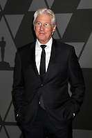 HOLLYWOOD, CA - NOVEMBER 11: Richard Gere at the AMPAS 9th Annual Governors Awards at the Dolby Ballroom in Hollywood, California on November 11, 2017. Credit: David Edwards/MediaPunch /NortePhoto.com