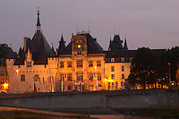The Hotel de Ville. Saumur, Loire, France