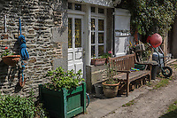Europe/France/Normandie/Basse-Normandie/50/Manche/Genêts: Maison du village // France, Manche, Genets: