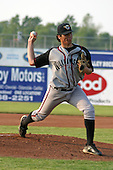 June 25, 2003:  Pitcher Sergio Silva of the Williamsport Crosscutters during a game at Dwyer Stadium in Batavia, New York.  Photo by:  Mike Janes/Four Seam Images