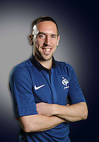 Franck Ribery .29/5/2012 .Calcio Foto Ufficiali Francia Euro2012.Foto Insidefoto / Anthony Bibard / FEP/ Panoramic ITALY ONLY