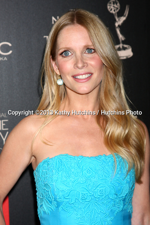 LOS ANGELES - JUN 16:  Lauralee Bell arrives at the 40th Daytime Emmy Awards at the Skirball Cultural Center on June 16, 2013 in Los Angeles, CA
