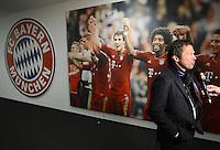 FUSSBALL   1. BUNDESLIGA  SAISON 2012/2013   27. Spieltag   FC Bayern Muenchen 9-2 Hamburger SV    30.03.2013 TV Experte Lothar Matthaeus beim Interview in der Allianz Arena