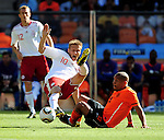 10 Martin JORGENSEN during the 2010 World Cup Soccer match between Denmark and Nederland played at Soccer City Stadium in Johannesburg South Africa on 14 June 2010.  Photo: Gerhard Steenkamp/Clevia Media. Cell: +27 82 453 2345