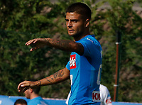 Lorenzo Insigne  during a preseason friendly soccer match against Aunania in Dimaro's Stadium   {today0} July 2017