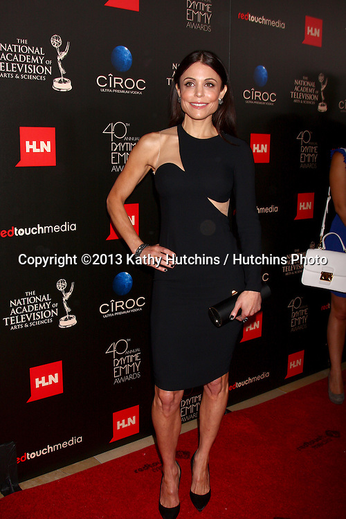 LOS ANGELES - JUN 16:  Bethenny Frankel arrives at the 40th Daytime Emmy Awards at the Skirball Cultural Center on June 16, 2013 in Los Angeles, CA