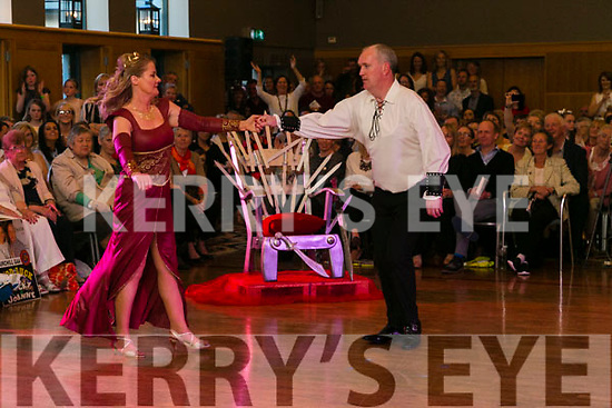At the Churchill GAA Strictly Come Dancing in the Ballyroe Heights Hotel on Sunday were Catherine Walsh and Michael O'Brien