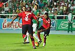 Cali- Deportivo Cali y Deportivo Independiente Medellín empataron a un gol, en el partido correspondiente a la fecha 12 del Torneo Clausura 2014, desarrollado el 27 de septiembre en el estadio Pascual Guerrero.